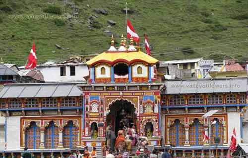 The Badrinath Tample.
