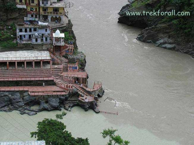 Devprayag, Confluence of Alaknanda & Bhagirathi River