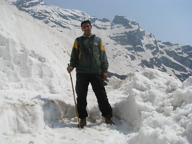 Myself on the way to Hemkund sahib