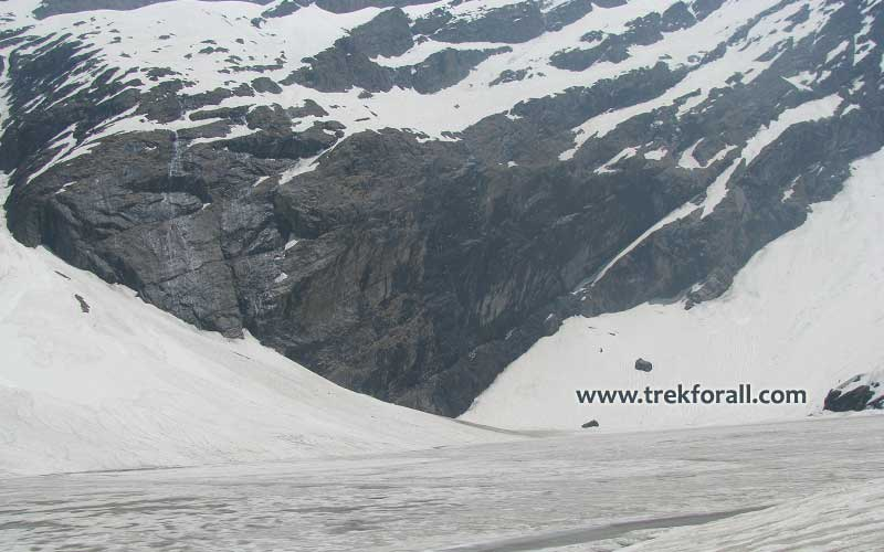 Hemkund Sahib Lake in June first week.