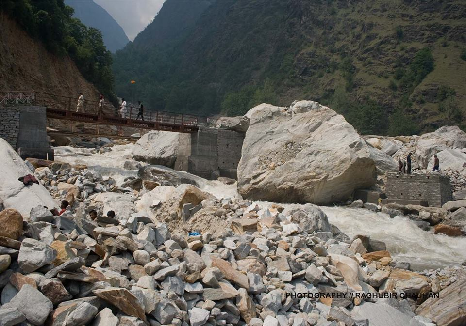 Bridge at Bhyuandar, Newly constructed bridge at Bhyuandar