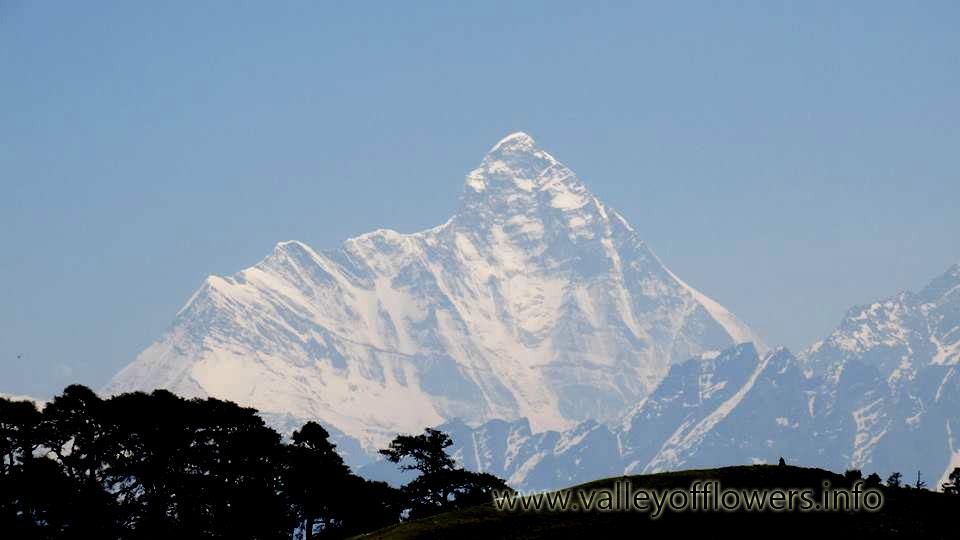 Nanda Devi Peak from Auli