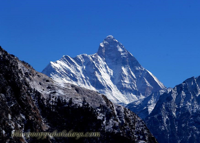 Nanda Devi view from Auli