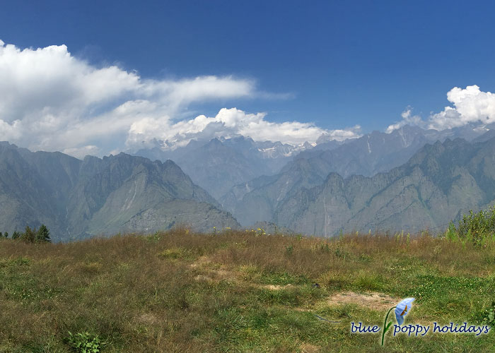 Beautiful view from Auli