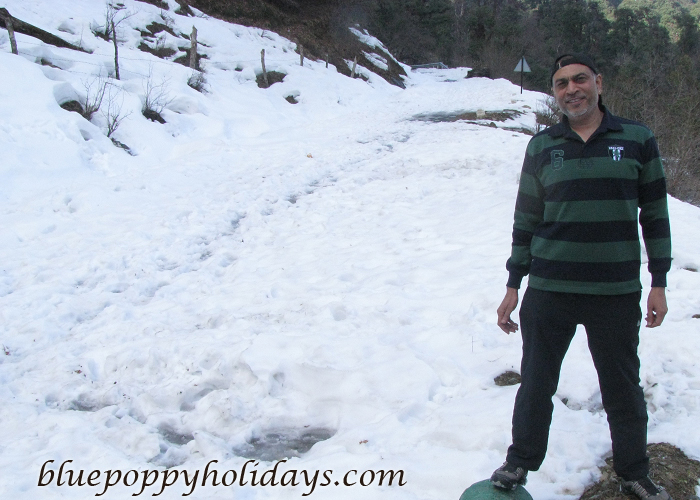 Chopta at snow time
