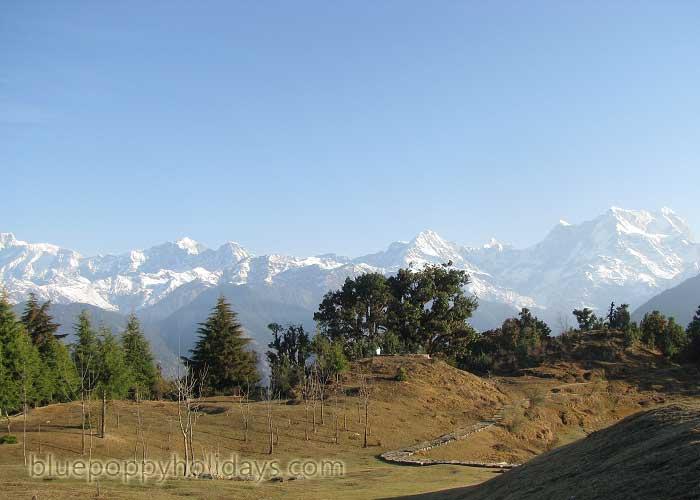Deoriya Tal Trek Route