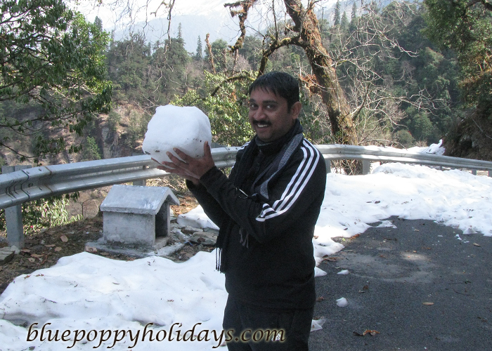 Fun with Snow in Chotpa