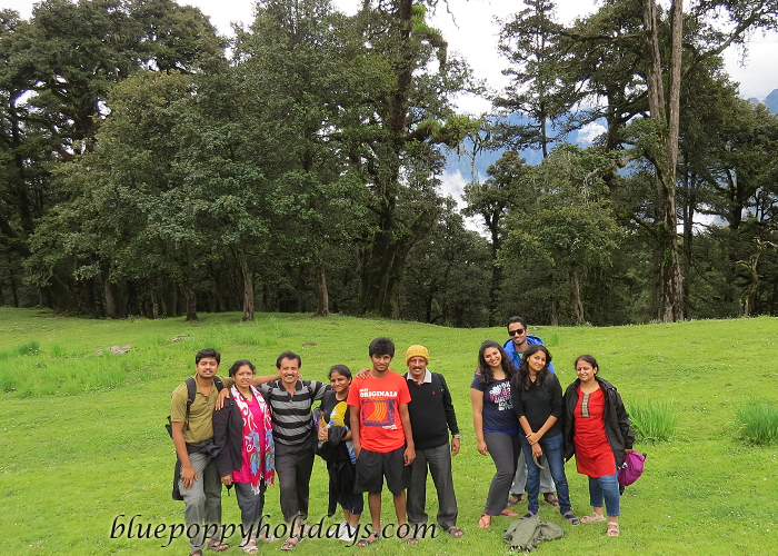 Group Photo in Auli