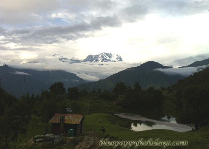 Heaven on earth seen from Chotpa