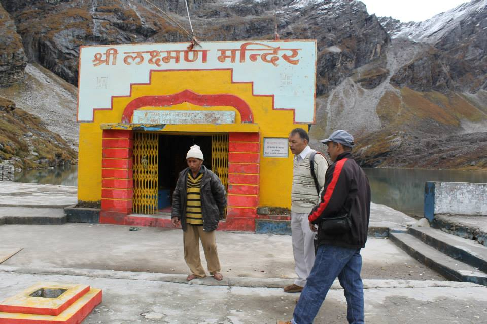 Laxman Mandir near Hemkund Sahib