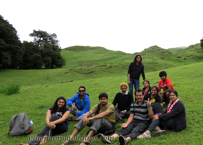 Our Group near Gorsan Peak