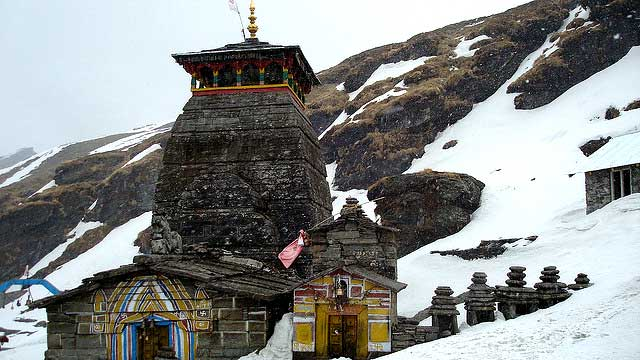 Tungnath Temple in Winters