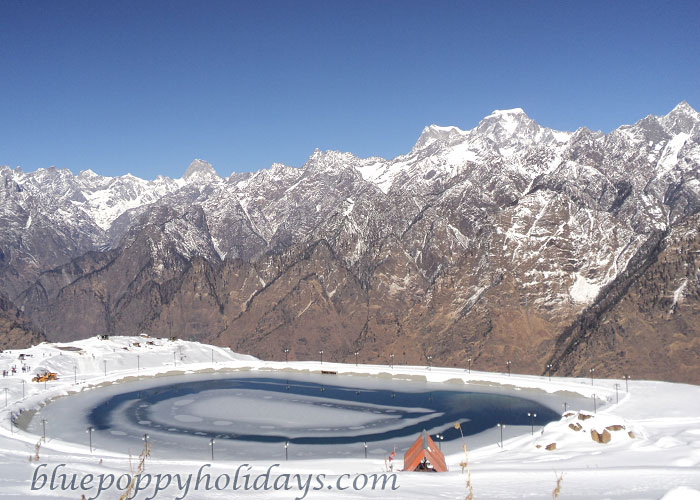 Auli in Winters