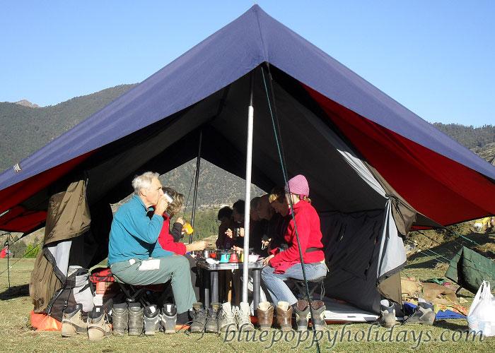 Camping at Khullara Top