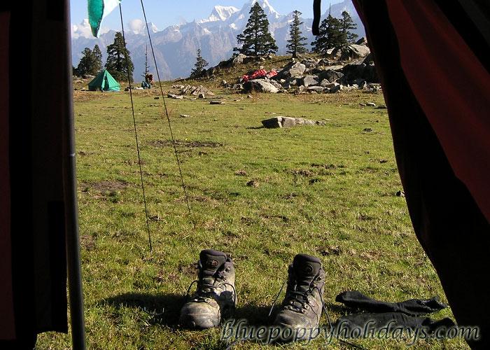 Camps at Khullara Top