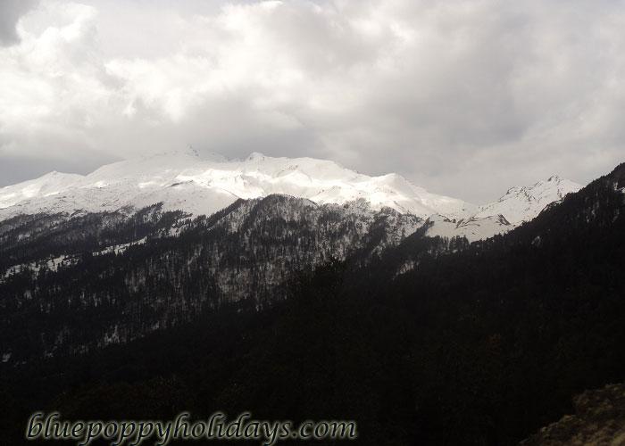 Different Peaks from Kuari Pass