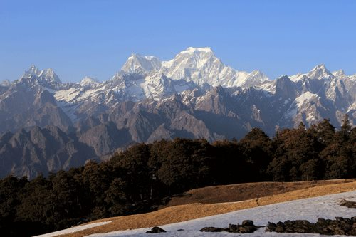 Hathi Peak View from Auli