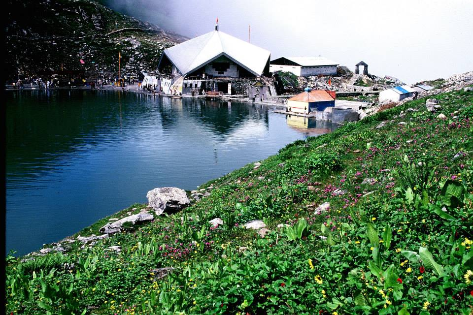 Hemkund Sahib at 13000 ft elevation