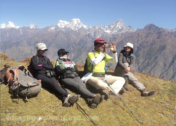 Our Group at Gorsan Peak