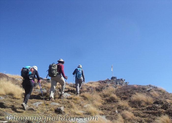 Our Group at Khullara Top