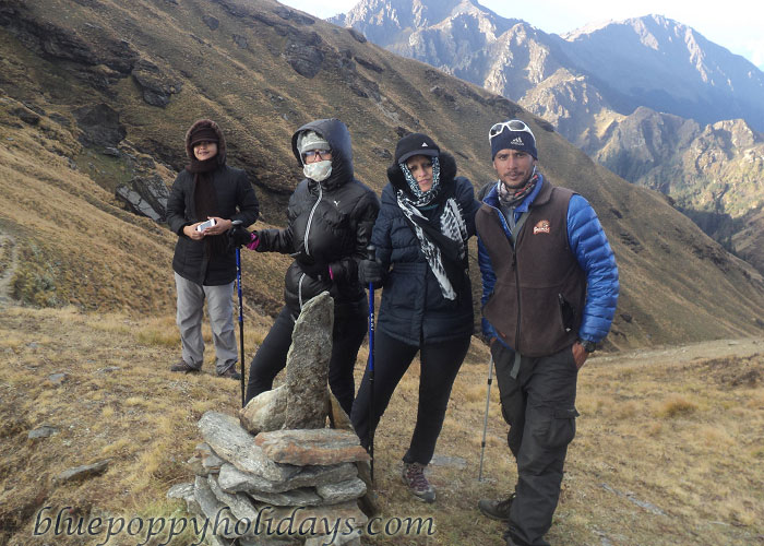 Our Group at Kuari Pass