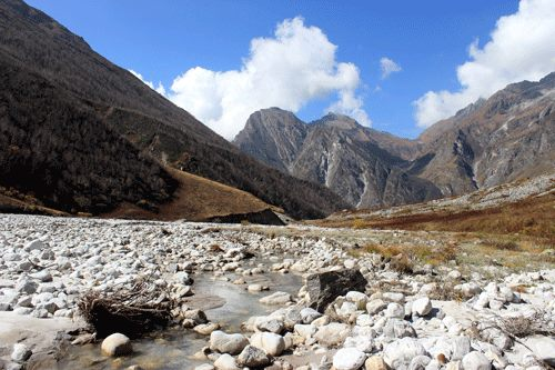 Pushpawati River in Valley of Flowers