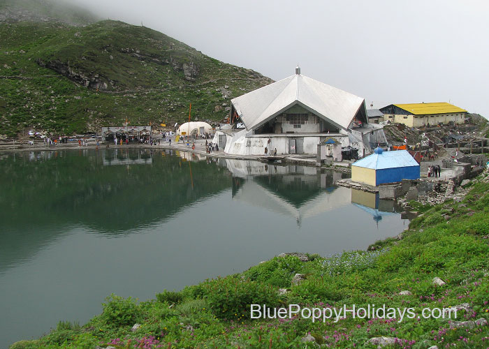Hemkund Sahib in July