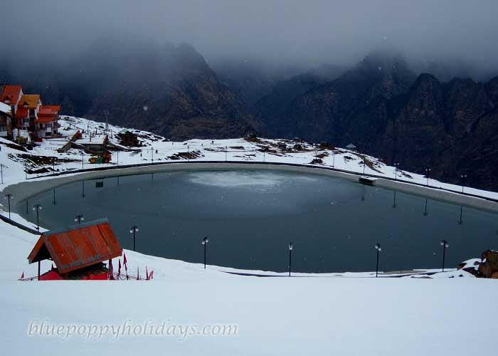 Artificial Lake in Auli