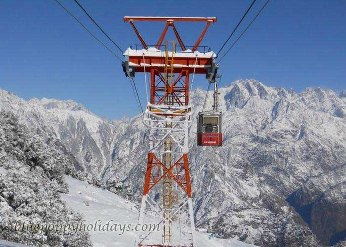 Cable Car in Auli
