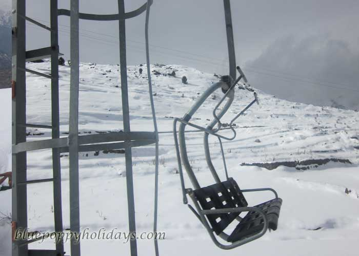 Chair Car at Auli