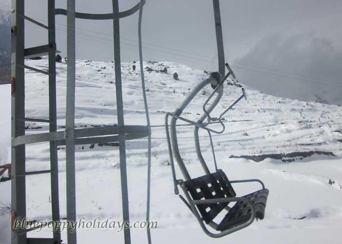 Chair Car at Auli